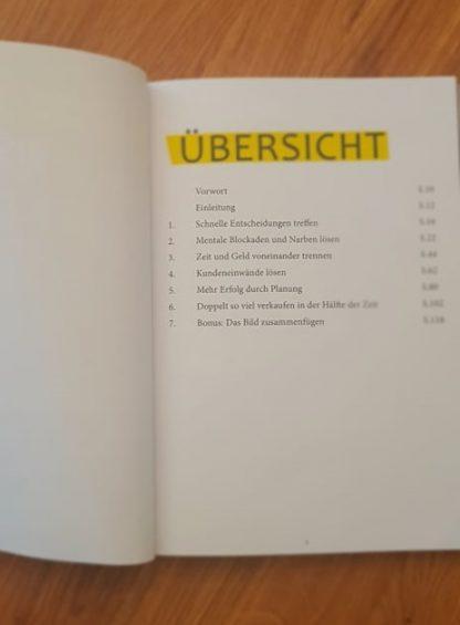 Übersicht der Inhalte aus dem gratis Buch
